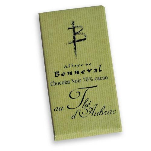 Tablette 70% thé d'Aubrac
